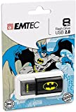 EMTEC Click 8 GB USB 2.0 Flash Drive, Ba...