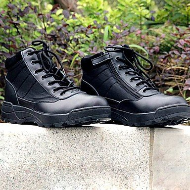 Love & scarpe scarpe da uomo Amir 2016New Style Outdoor/Duty Leather/denim Skidproof basso stivaletti nero/beige Beige