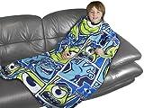 Character World Disney Monsters University Sleeved Fleece Blanket, Multi-Color