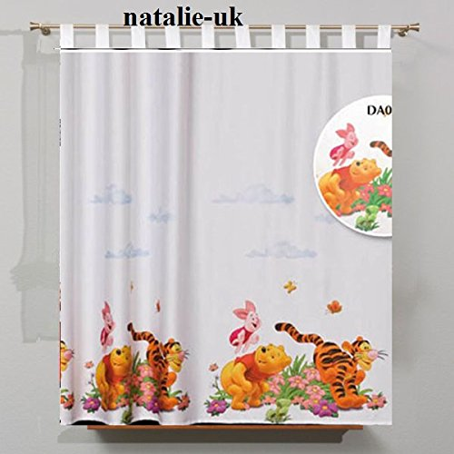 "Gardine, mit Schlaufen, Motiv ""Disney-WINNIE the Pooh and Friends 75 cm H x L 157 cm, CURTAIN"