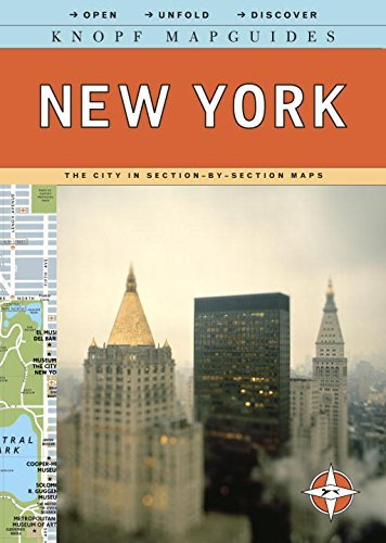 Knopf MapGuide: New York (Knopf Mapguides) by Knopf Guides (2016-03-01) - Mapguide New York