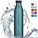 Bouteille acier inoxydable 720°Dgree MilkyBottle 1 litre - Bleu