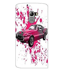 PrintDhaba Car D-2824 Back Case Cover for LENOVO VIBE K4 NOTE (Multi-Coloured)