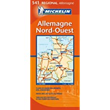 Carte RGIONAL Allemagne Nord-Ouest