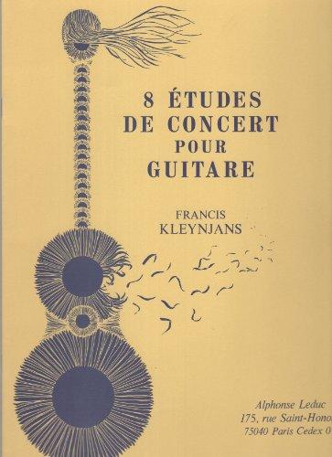 8 Etudes de concert pour guitare