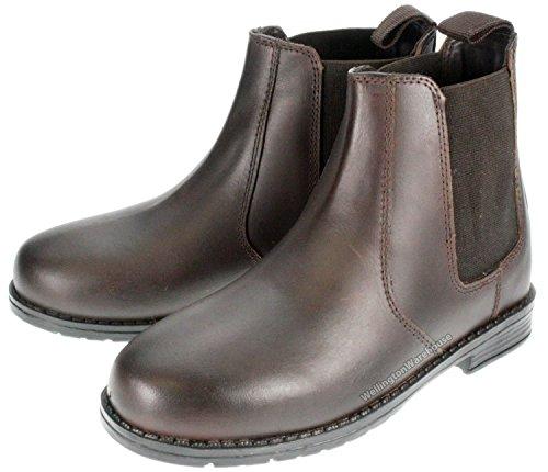 New Earth , Chaussures d'équitation pour garçon Marron marron Marron