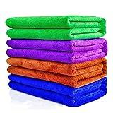 Auto waschen Pflege Schützen Trocknen Tuch Polieren Polieren doppelten Plüsch Mikrofaser Blended Garn 70* 30cm Set von 4Super Saugfähig Auto Reinigung