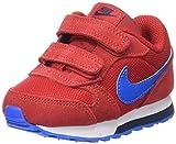 Nike MD Runner 2 (TDV), Zapatillas Unisex, Multicolor (University RED / PHT Blue Obsdn), 23.5 EU