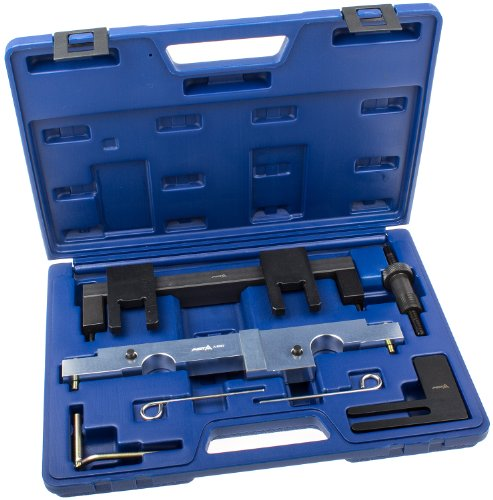 Preisvergleich Produktbild Motor-Einstellwerkzeug Satz BMW N43 B16 B20 1.6 und 2.0 Benzinmotoren E81 E82 E87 E88 E90 E91 E92 E93 E60 E61 Nockenwelle Kurbelwelle Vanos-Steuerung Ausgleichswelle Arretierung Fixierung Fixierwerkzeug Arretierwerkzeuge Steuerzeiten