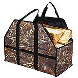 Sunrise Legna da ardere di borse della borsa Ceppo di legno di mandata macchina grande capacità di forte e duraturo Legna da ardere tasche per camini Legna
