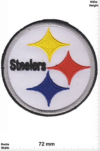 Patch - Pittsburgh Steelers - American-Football - National Football League - NFL USA - Sport USA - Sport USA - Pittsburgh Steelers - Aufnäher - zum aufbügeln - Iron On