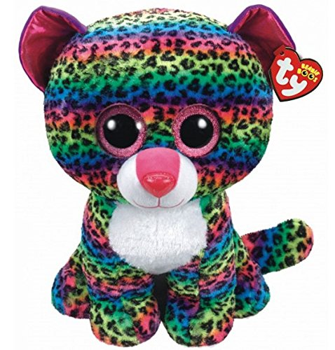 "Beanie Boo Leopard - Dotty - Multicoloured - 45cm 18"" Masssive"