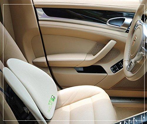 Preisvergleich Produktbild Express Panda® Ergonomische Niedrige Druck-Lendenwirbelstütze - Patentierte Haltungsrückseiten-Unterstützung für Autos, LKWas, Vans, Rollstühle