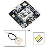 MakerHawk GPS Module 51 Microcontrôleur GPS Compatible NEO-6M STM32 Arduino Navigation Satellite Positionnement GT-U7