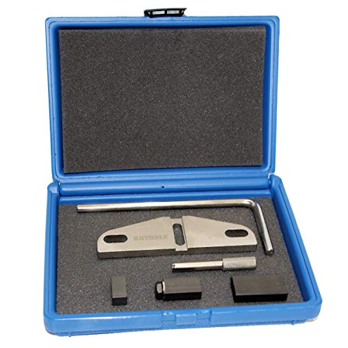 ROTOOLS Zahnriemen Wechsel Werkzeug Satz Steuerzeiten Arretierung passend für Ford C-Max Kuga Mondeo Focus 2.0 2.2 TDCI 978