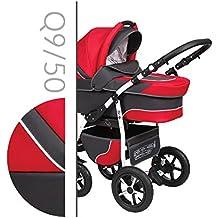 Baby Merc Q9 Carrito Cochecito 3en1+silla de coche