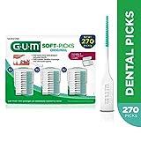 Gum Softpicks originale, 3convenient Travel Cases, 270Soft Picks