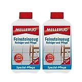 2x Mellerud Feinsteinzeug Reiniger und Pflege (1 Liter)