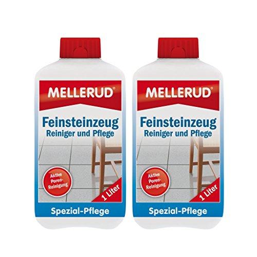feinsteinzeug pflege 2x Mellerud Feinsteinzeug Reiniger und Pflege (1 Liter)