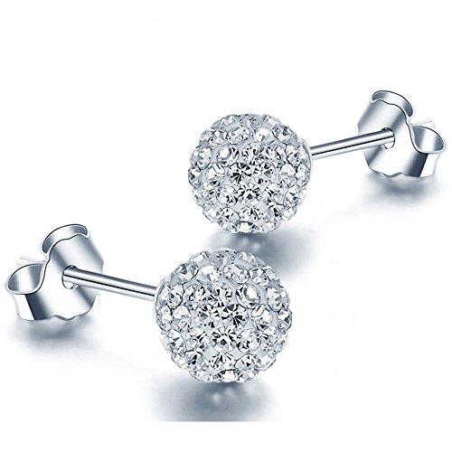 EMPATHY JEWELS - Pendientes de Plata con Cristales de Swarovski - Rega