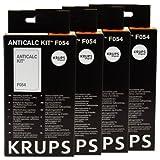 Krups Anticalc Kit*F054, Decalcificante Macchine del Caffè, Accessori, 4 Pezzi