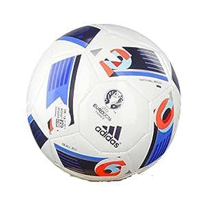 adidas Fußball EURO16 Mini, white/bright blue/night indigo, 1, AC5427