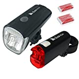 Fahrradbeleuchtung-Set Hochleistungs-LED...