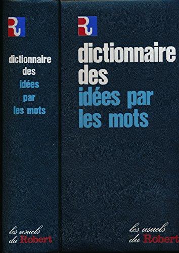 Dictionnaire des ides par les mots (Analogique) - Collection