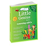 Learning ABCs: Pre Kindergarten Workbooks (Little Genius Series): Teaches Tracing, Strokes, Uppercase