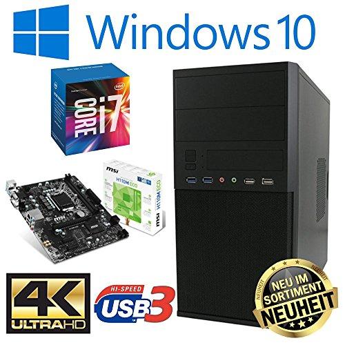 Master-PC Intel i7-7700, 16GB DDR4, 480GB SSD + 2TB, Windows 10 Pro -