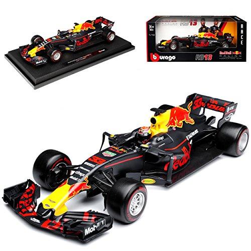 Red Bull RB13 Racing Max Verstappen Nr 33 Formel 1 2017 1/18 Bburago Modell Auto