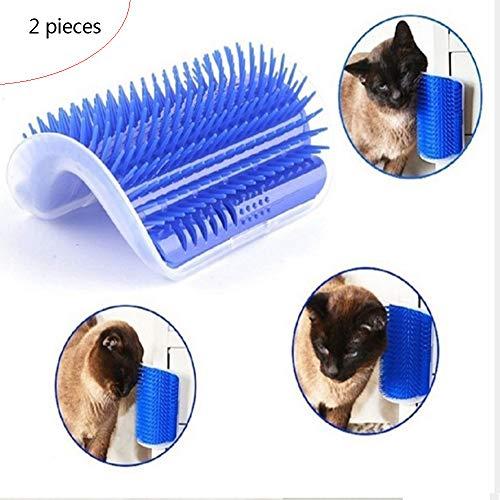 Cat Corner Scratching cat Hair Brush Catnip cat Hair Removal Comb, Two