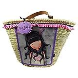 Santoro Gorjuss London Jar Of Hearts Sac Porté Main Grande Pour la Mer Sac à l'épaule pour Femme Fille