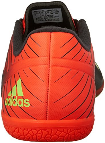 Adidas Performance Messi 15,3 Indoor Chaussure de football, noir / choc Vert / solaire Rouge, 7 M Us Black/Shock Green/Solar Red