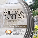 Quotes For The Million Dollar Earners (English Edition)