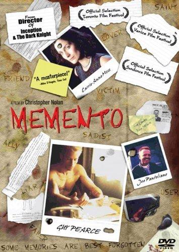 Memento (2000) Guy Pearce, Carrie-Anne Moss DVD by Christopher Nolan (Memento 2000)