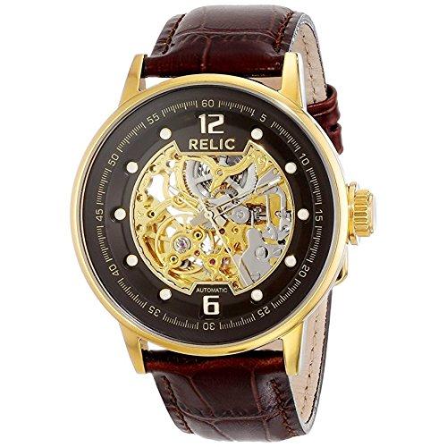 Reloj de pulsera redondo automático Relic para hombre (ZR77241)