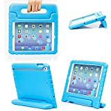 eTopxizu Shockproof Case Light Weight Kids Case for Apple iPad 4, iPad 3 & iPad 2 2nd 3rd 4th Generation,iPad 2 3 4 Shockproof Case Super Protection Cover Handle Stand Case for Children(Blue)