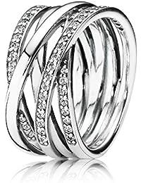 Ring aus 925er Silber mit Zirkonia von PANDORA 190919CZ