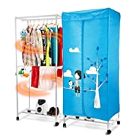 ✏GYJ Household Mute Clothes Dryer 15 Kg Capacity 900W Three-dimensional Circulation Heating Dry Hanger