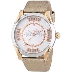 Just Cavalli Damen-Armbanduhr Analog Quarz Leder R7251593503