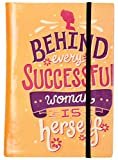#3: Mothers Day Gifts - Successful Women Quote Printed Journal Diary Notebook 5 x 7 inches, 96 Unlined Sides