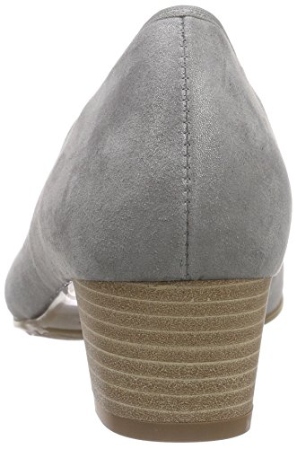 SemlerCleo - Scarpe con Tacco Donna Grau (015 - perle)