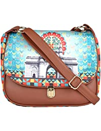 All Things Sundar Womens Sling Bag / Cross Body Bag - S05 - 85