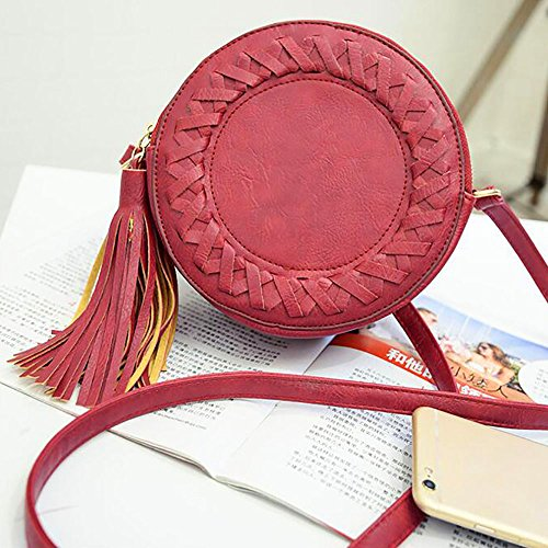 Tong Yue, Borsa a spalla donna, red (rosso) - TYUK0488-1 red
