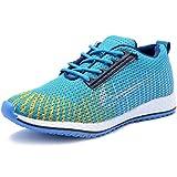 Vogue Stack Men's Sky Blue Running Shoes (357) (6)