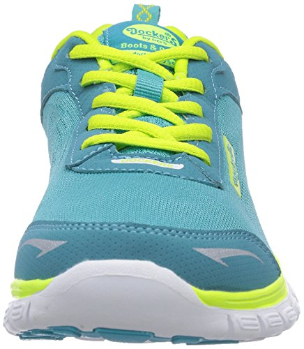 Dockers by Gerli 36VN20, Low-Top Sneaker donna Verde (Grün (grün 800))