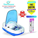 Thermocare Gio-Life Piston Compressure Nebulizer with Complete Kit