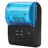 Diyeeni Drahtloser Bluetooth Thermodrucker 58 mm, Portable Thermal Receipt Ticket Drucker, Bondrucker mit USB- / Seial Anschluss WiFi, Kompatibel mit iOS Android Windows(58mm Bluetooth Thermodrucker)