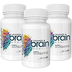 Brain Complex Suplemento Con Ingredientes Naturales - Complejo Vitamínico Para Recuperar La Energía - Brain Complex Aumenta La Concentración Y Motivación (3)